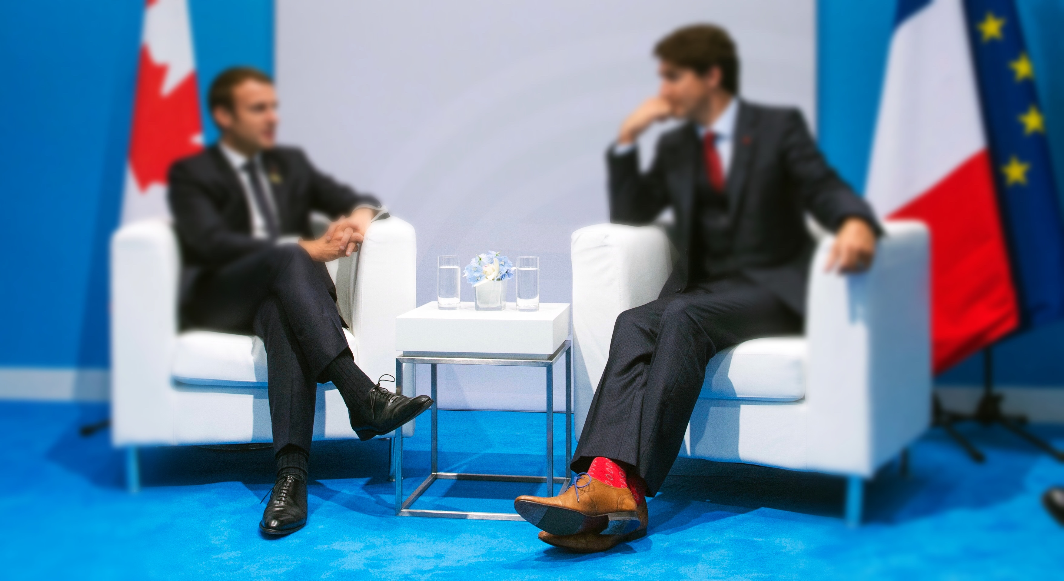 Exclusive: The world's only analysis of sock geopolitics!